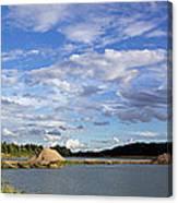 Cloudscape Panorama Canvas Print