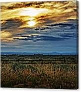 Cloudy Afternoon Canvas Print