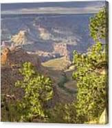 Cloudy Bright Angel Trail II Canvas Print