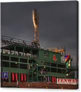 Cloudy Fenway Park - Boston Canvas Print