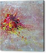 Cloudy Monday Abstract Painting Canvas Print