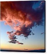 Cloudy Perspective Canvas Print