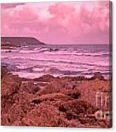 Cloudy Sea Canvas Print