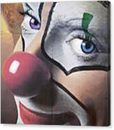 Clown Mural Canvas Print