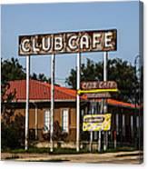 Club Cafe Canvas Print
