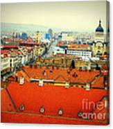 Cluj From Above Canvas Print