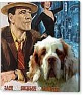 Clumber Spaniel Art - Irma La Douce Movie Poster Canvas Print