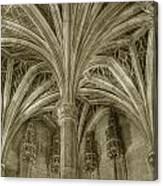 Cluny Museum Ceiling Detail Canvas Print