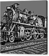 Cnr Number 47 Bw Canvas Print