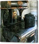 Coal Stove Canvas Print