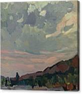 Coast At Sunset Canvas Print