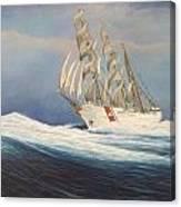 Coast Guard Bark Eagle Canvas Print