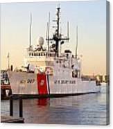 Coast Guard Cutter Canvas Print