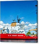 Coast Guard Cutter Mackinaw Canvas Print