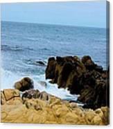 Coast Of California # 19 Canvas Print