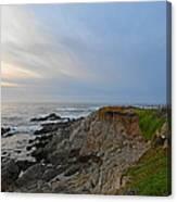 Coast of Monterey Bay Canvas Print