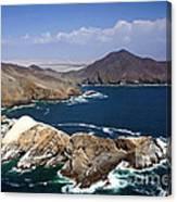 Coast Of Peru Canvas Print