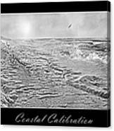 Coastal Calibration Canvas Print