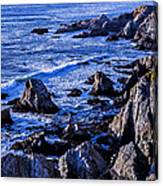 Coastal Cliffs Canvas Print