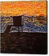 Coastal Contemplation Canvas Print