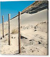 Coastal Dunes In Holland 2 Canvas Print