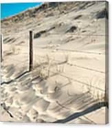 Coastal Dunes In Holland 3 Canvas Print