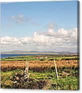 Coastal Landscape County Mayo Canvas Print