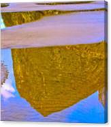 Coastal Landscape In Abstract 2 Canvas Print