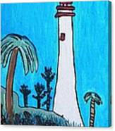 Coastal Lighthouse Canvas Print