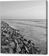 Coastal Lines Canvas Print