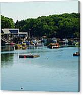 Coastal Maine Bay Canvas Print