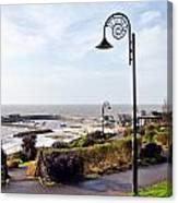 Coastal Overview At Lyme Regis Canvas Print