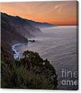 Coastal Sunrise II Canvas Print