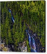 Coastal Waterfall Canvas Print