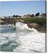 Coastline  Santa Cruz -  California Canvas Print
