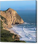 Coastline At Point Reyes National Sea Canvas Print
