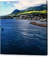 Coastline Of St Kitts Canvas Print