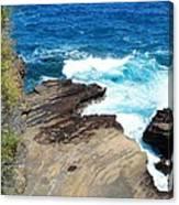 Coastline Splendor Canvas Print