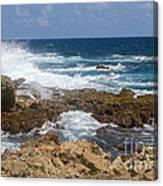 Coastline Surge Canvas Print