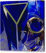 Cobalt Therapy Canvas Print