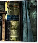 Cobblers Fire Extinguisher Canvas Print
