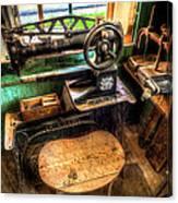 Cobblers Sewing Machine Canvas Print