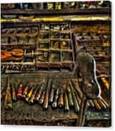 Cobblers Tools Canvas Print
