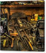 Cobblers Workbench Canvas Print
