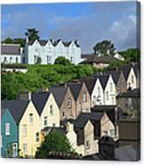 Cobh Town Houses Canvas Print