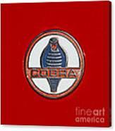 Cobra Emblem Canvas Print