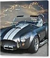 Cobra In The Clouds Canvas Print