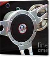 Cobra Steering Wheel Canvas Print