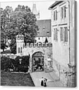Coburg Castle Germany 1903 Canvas Print