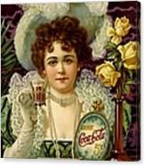Coca Cola 5 Cents Canvas Print